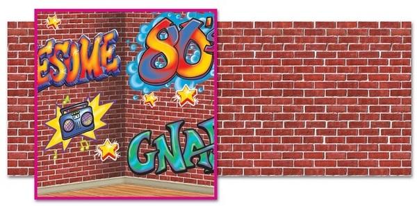 80 S Graffiti Insta Scene Kit