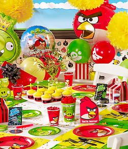 Angry birds party supplies and decorations for Angry birds party decoration ideas
