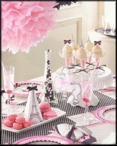 French Themed Party Supplies and Decorations