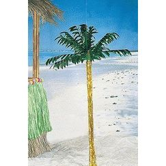 Hanging Metallic Palm Tree