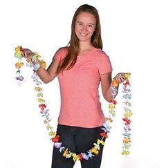 Rainbow Flower Garland