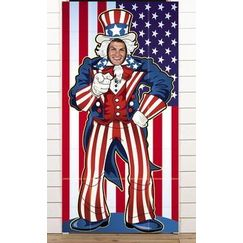 USA Uncle Sam Photo Op Poster