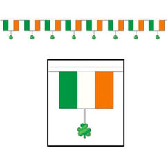 Irish Flags Banner