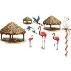Tiki Huts and Birds Add Ons