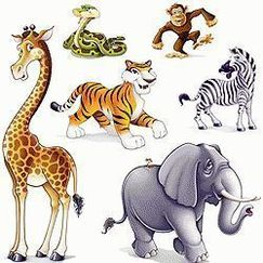 Jungle Animal Add Ons