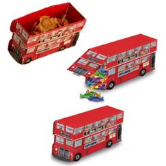 Double Decker Bus Centrepiece