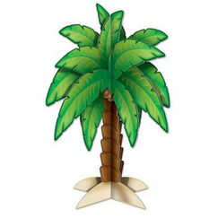 3D Palm Tree Centrepiece