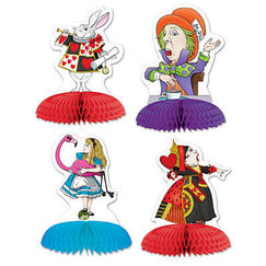 Alice In Wonderland Mini Centrepieces - pk4