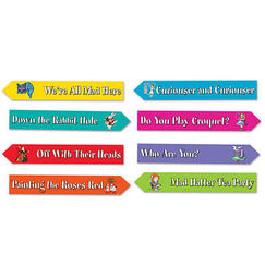 Alice In Wonderland Signs - pk4