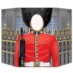 Royal Guard Photo Op Prop Stand Up
