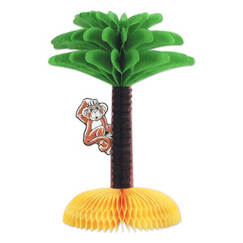 Monkey in Palm Tree Centrepiece