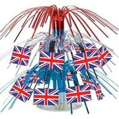Mini 2-tier British Flag Centrepiece