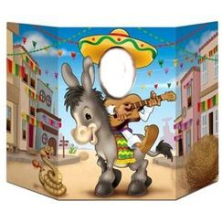 Fiesta Donkey Photo Op Prop Stand Up