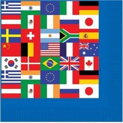 International Flags Napkins