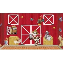 Red Barn with Animals Insta Scene Kit