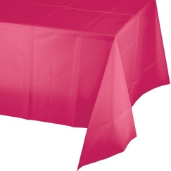 Hot Pink Magenta Tablecloth