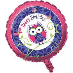 Owl Pal Birthday Balloon