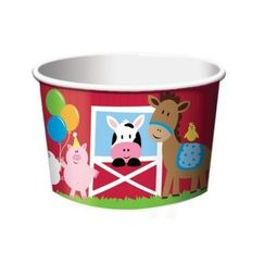 Farmhouse Fun Treat Cups - pk6