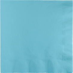 Pastel Blue Napkins - Beverage