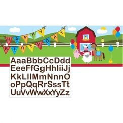 Farmhouse Fun Personalise It Banner