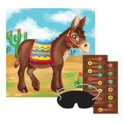 Pin Tail On Donkey Game