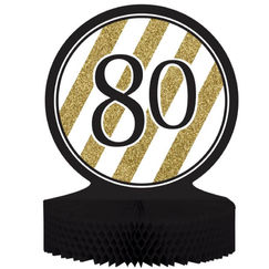 Black & Gold 80 Centrepiece