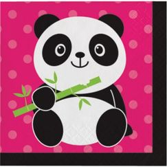 Panda Monium Small Napkins
