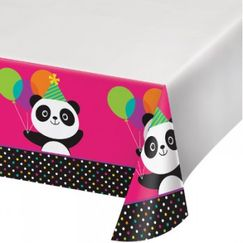 Panda Monium Tablecloth