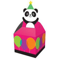 Panda Monium Treat Boxes - pk8