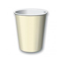 Ivory Paper Cups - pk24