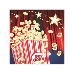 Small Hollywood Lights Napkins - pk16