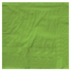 Lime Green Napkins - Beverage