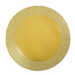 Prismatic Glitz Gold Placemats - pk8