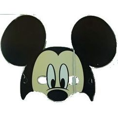 Mickey Mouse Face Masks - pk8