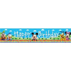 Giant Mickey Mouse & Friends Banner
