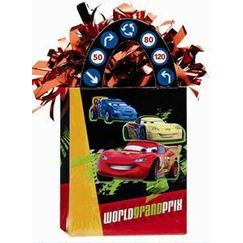 Disney Cars 2 Bag Balloon Weight