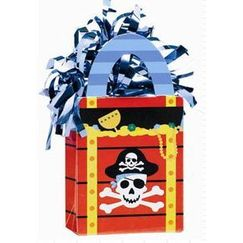 Pirate Party Bag Balloon Weight