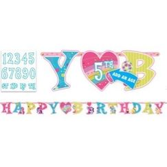Jumbo My Little Pony Birthday Banner