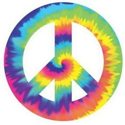 Tye-Dye Feeling Groovy Cut-out - Each