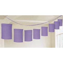 Purple Lantern Garland
