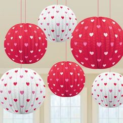Hearts Mini Lanterns - pk5