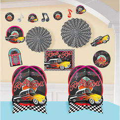Classic 50's Rock & Roll Decorating Kit