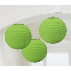 Round Lime Green Lanterns - pk3