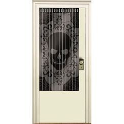 Fright Night Skull Doorway Curtain