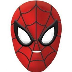 Spiderman Plastic Mask - Each