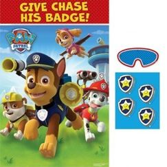 PAW Patrol Party Game for up to 8 Players