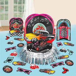 Rock & Roll Table Decorating Kit