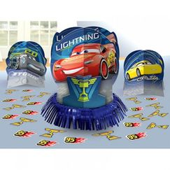 Disney Cars 3 Table Decorating Kit