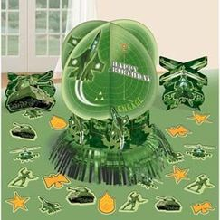 Camouflage Birthday Table Decorating Kit
