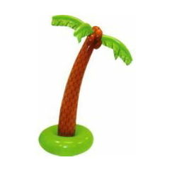 Jumbo Inflatable Palm Tree - 180cm